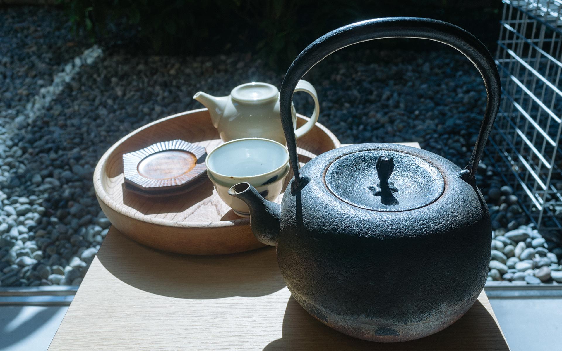 南部鉄瓶 白湯