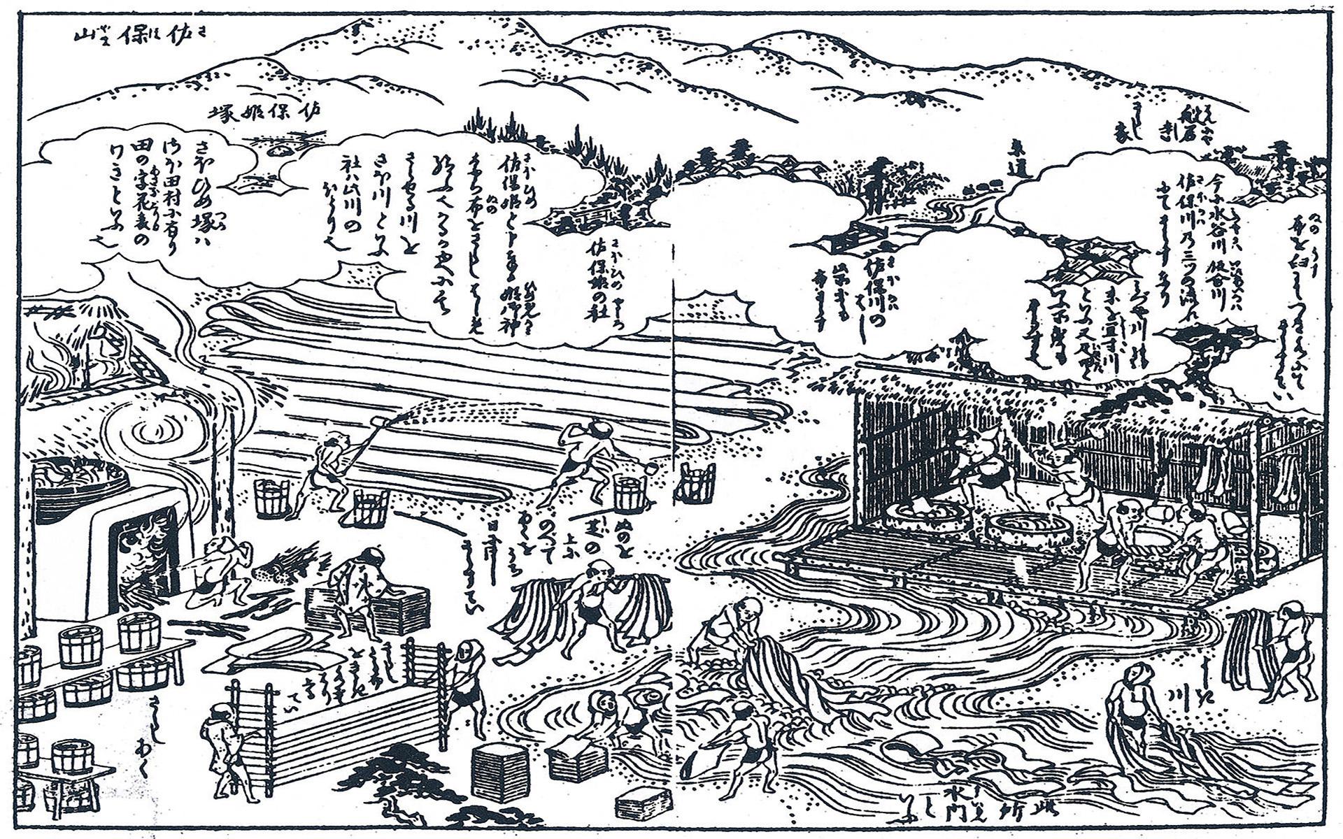 歩いて行けるタイムトラベル 麻の最上と謳われた奈良晒
