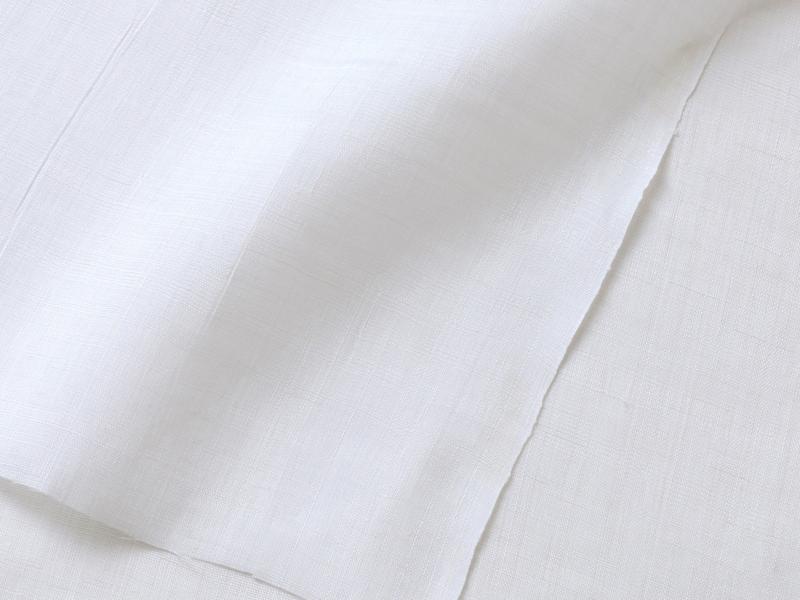 清々しい晒の白