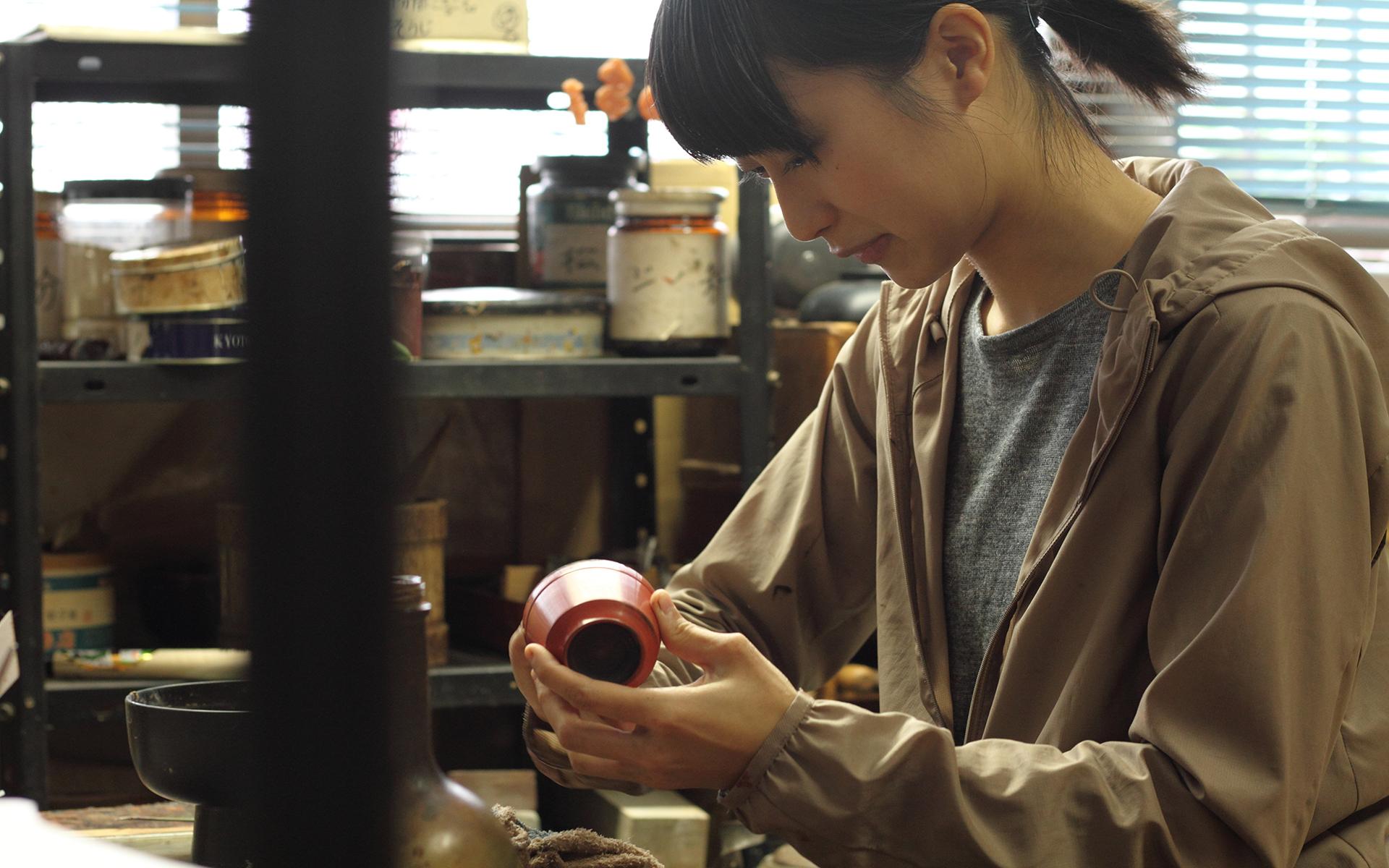 鯖江・漆琳堂の塗師・嶋田希望さん/さんち〜工芸と探訪〜