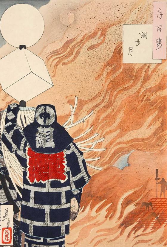 絵の題材にもなった江戸の火事や火消し。