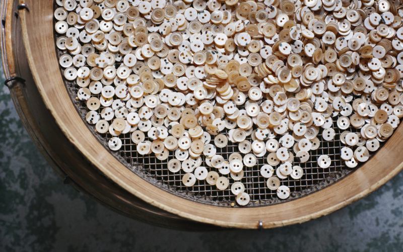 奈良の貝ボタン