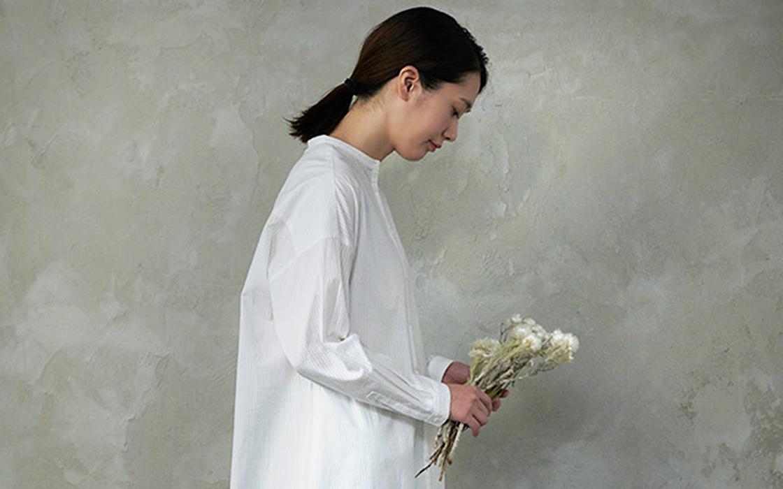 明るく爽やかな印象の白は、見る人をハッとさせます
