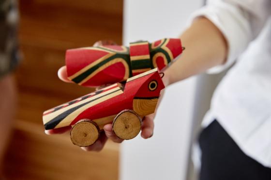 郷土玩具収集家の旅・雉子車