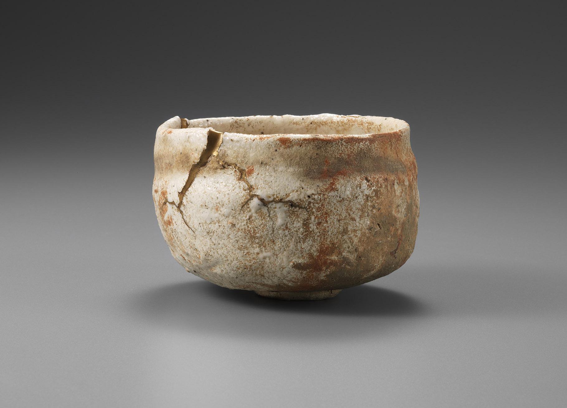 川喜田半泥子《志野茶碗 赤不動》1949年 東京国立近代美術館蔵