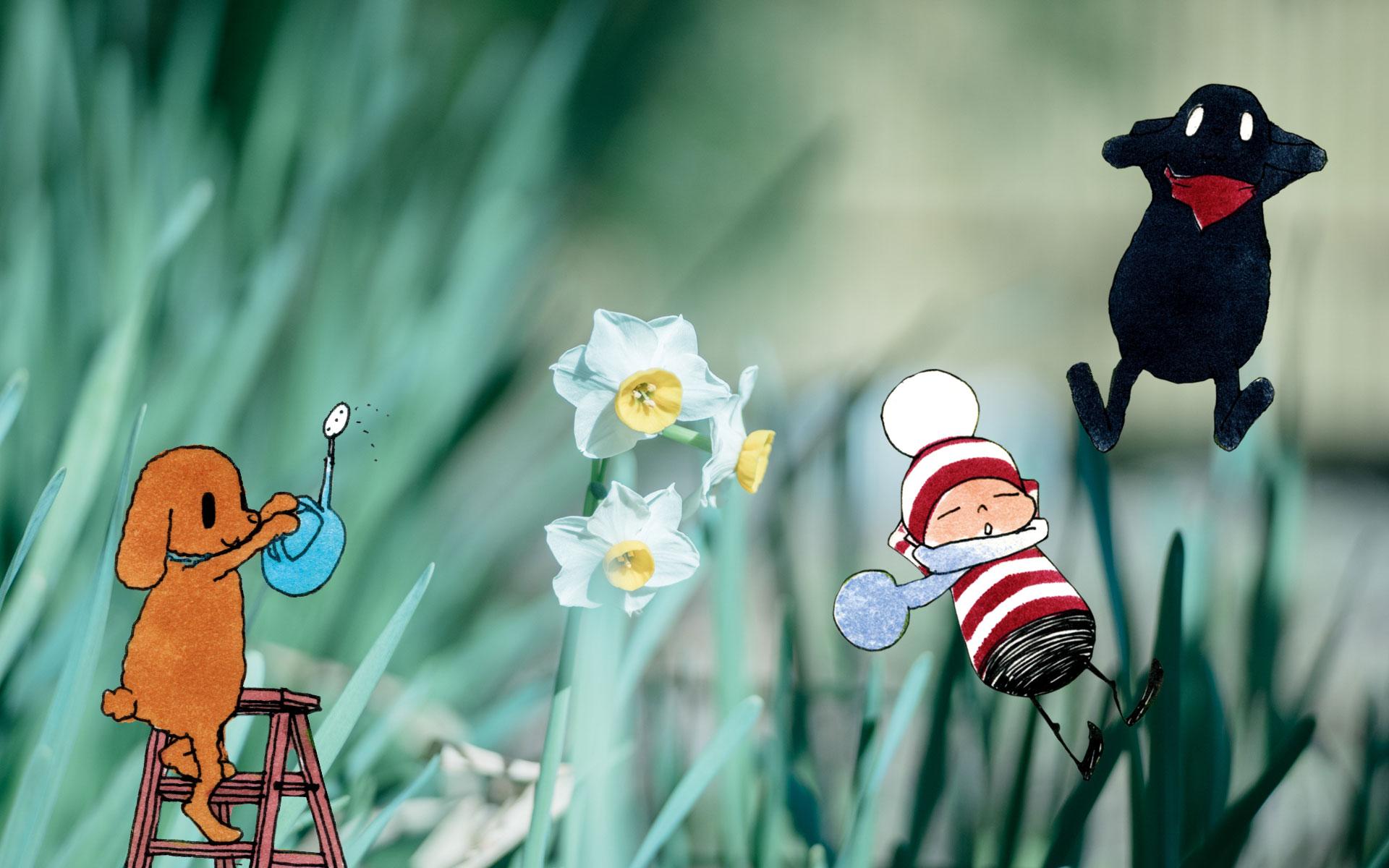 オチビサンと巡る四季の鎌倉 〜水仙の花ひらく冬編〜