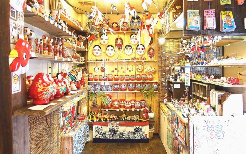 福岡の郷土玩具専門店 山響屋