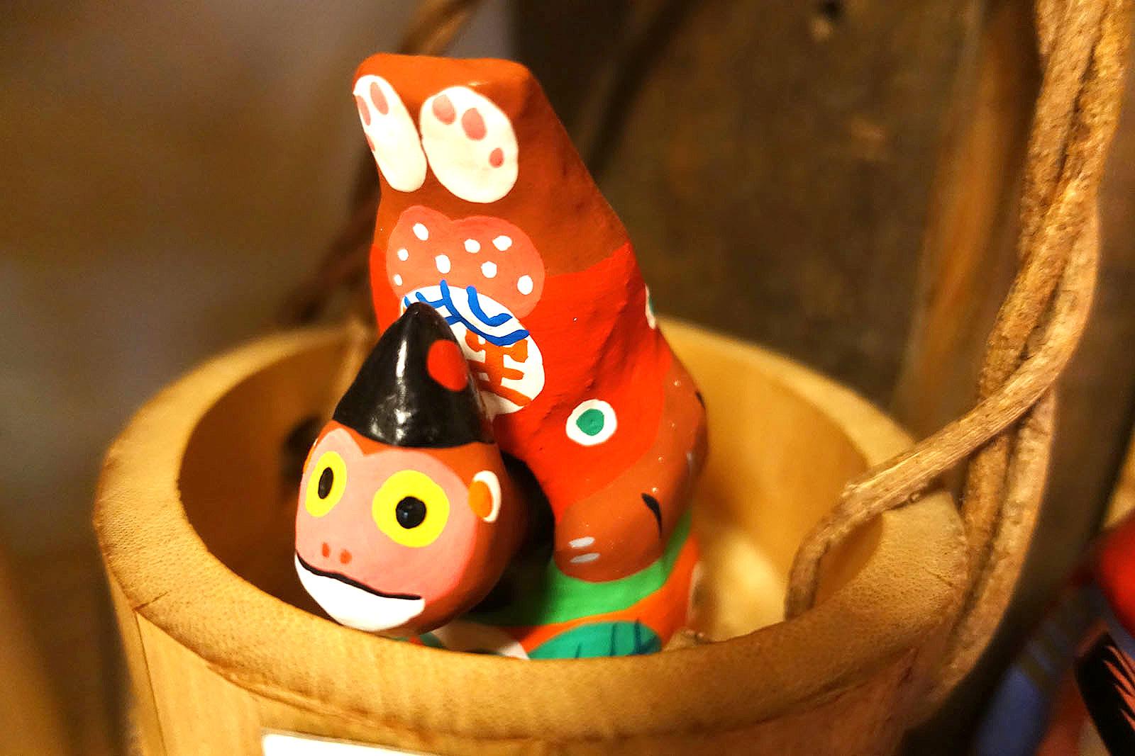 「逆立ち猿」/広島県宮島