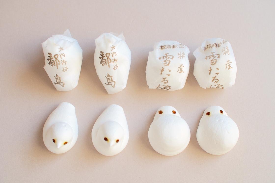 岐阜 「奈良屋本店」の雪たる満・都鳥