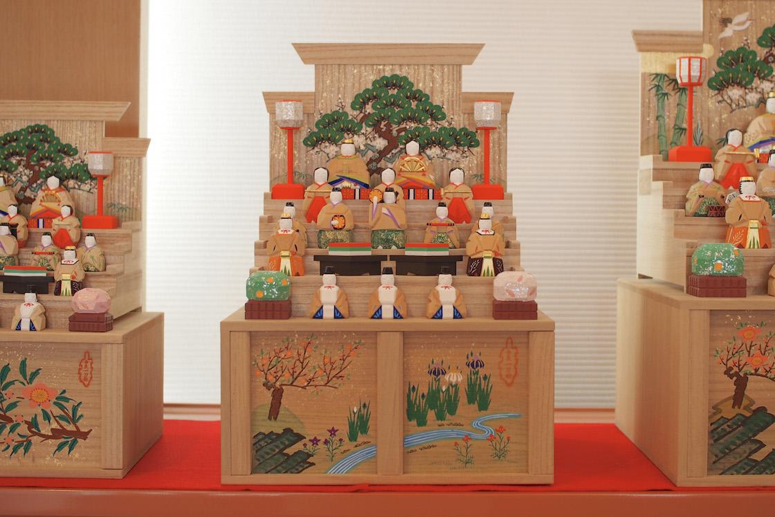 神泉さんの段飾り雛