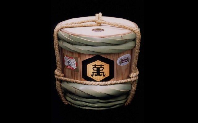 Yuidaru, or bound barrel (collection from Kikkoman Institute for International Food Culture)