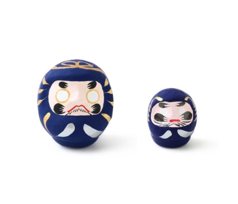 藍色だるま 大 : 2,000円(税別)/小 : 1,000円(税別)