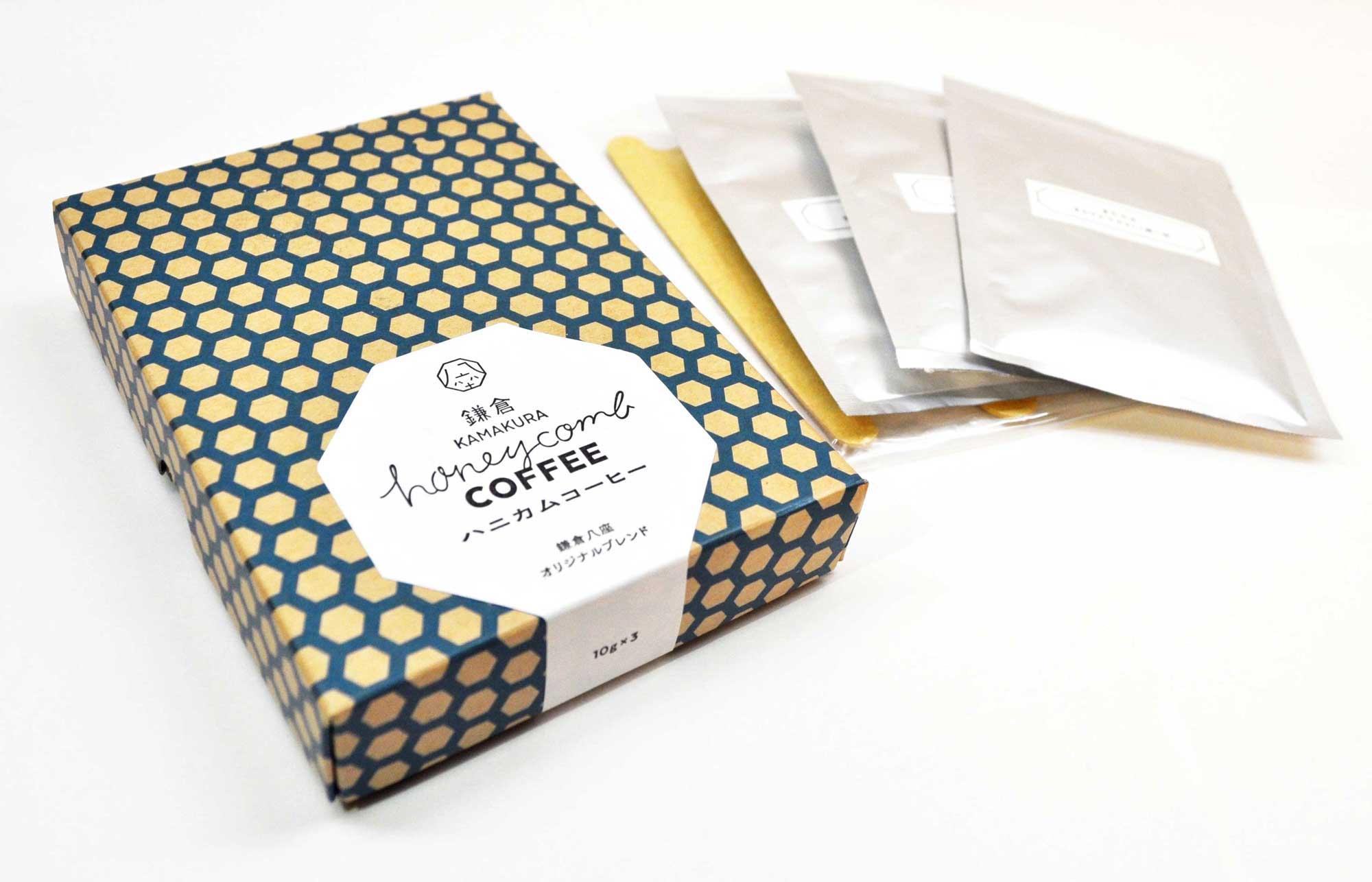 鎌倉 ハニカムコーヒー : 640円(税別)