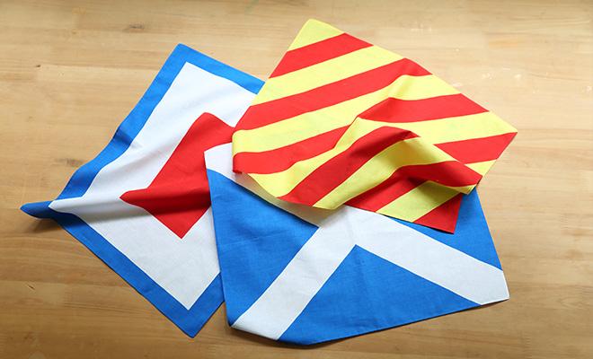 国際信号旗 ハンカチーフ