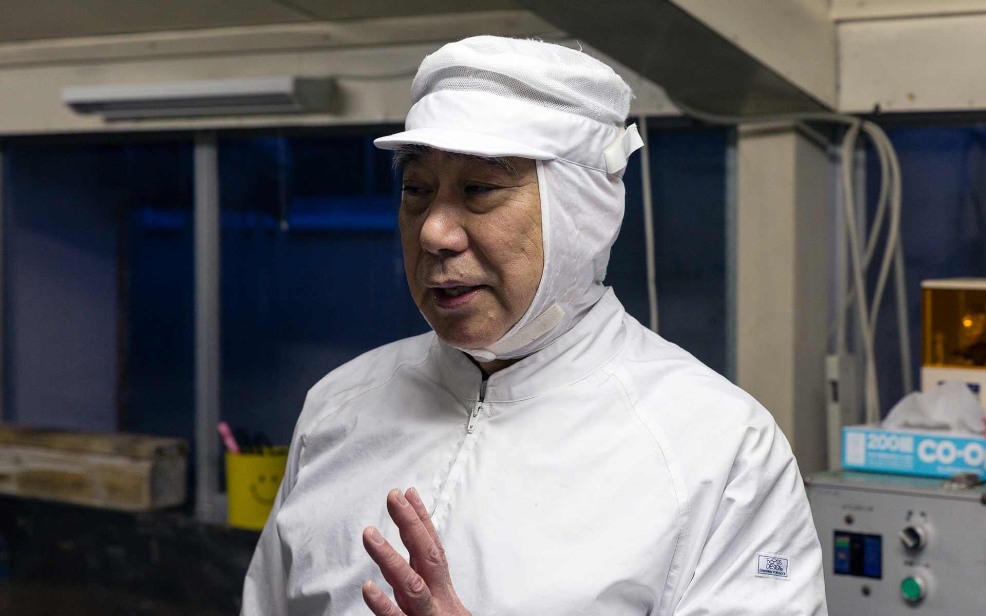 3代目の小田島隆社長