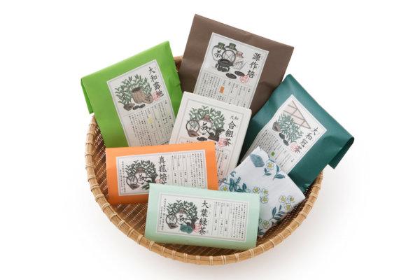 ていねいにつくられた本格的なお茶を手軽に楽しめるティーパック包装です