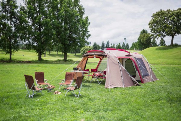 完成!これだけあれば、快適なキャンプが楽しめそうです