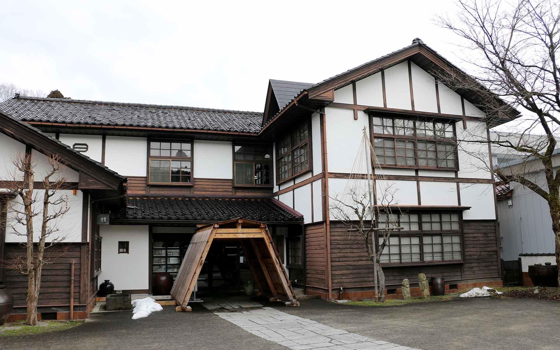 桂樹舎・和紙文庫の外観
