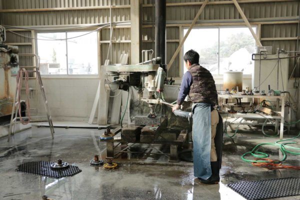 磨きの工程。