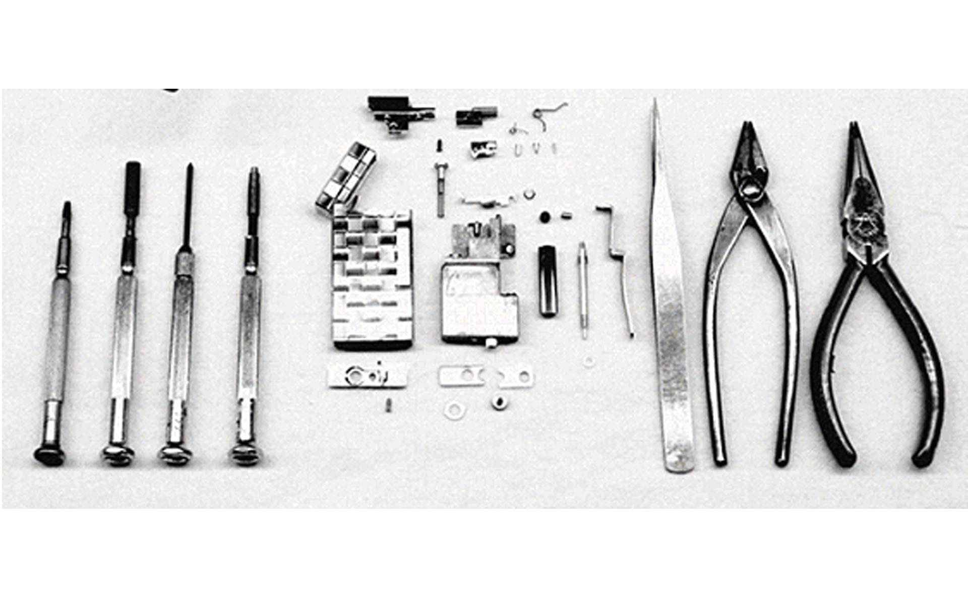 サロメ社の工房道具