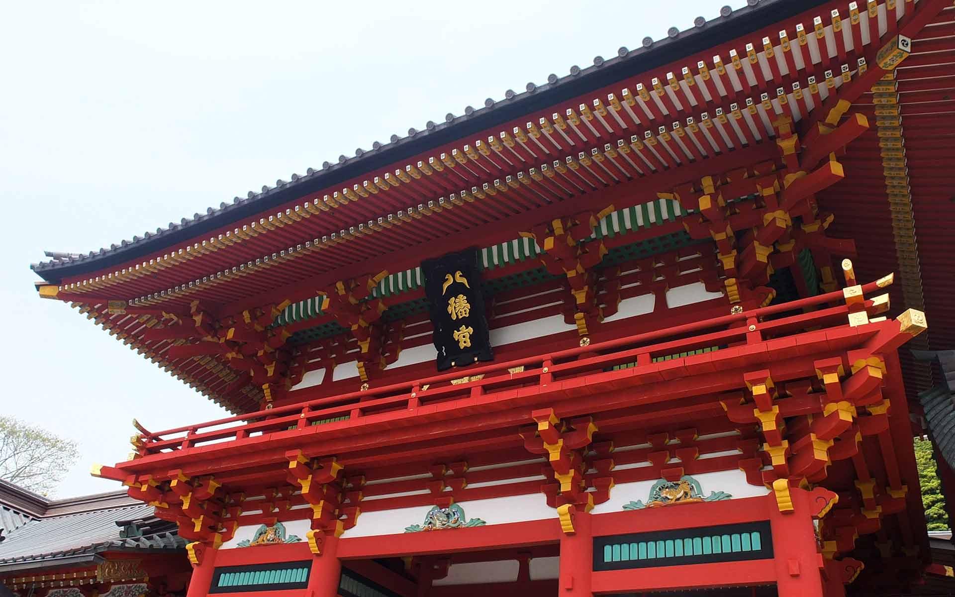 本宮は国の重要文化財に指定されています