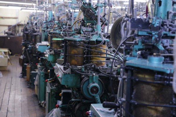 年季の入った機械が並ぶ