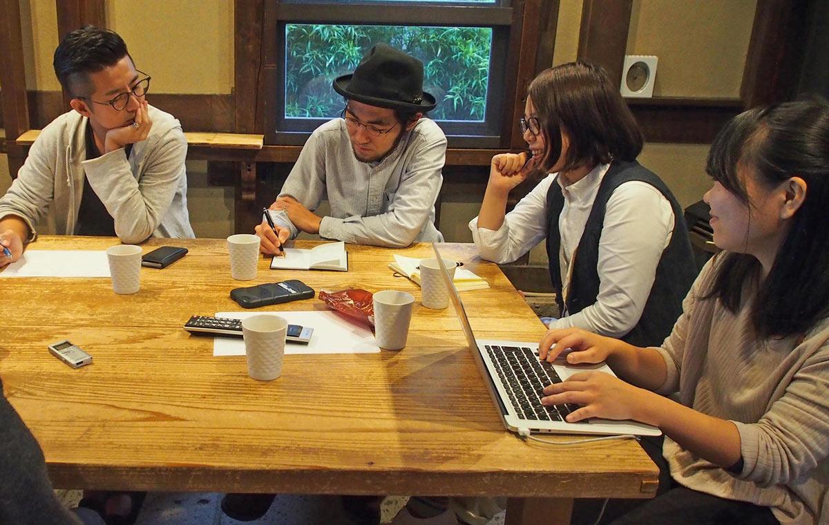 鎌倉の作り手たちによる商品開発のデザインミーティング