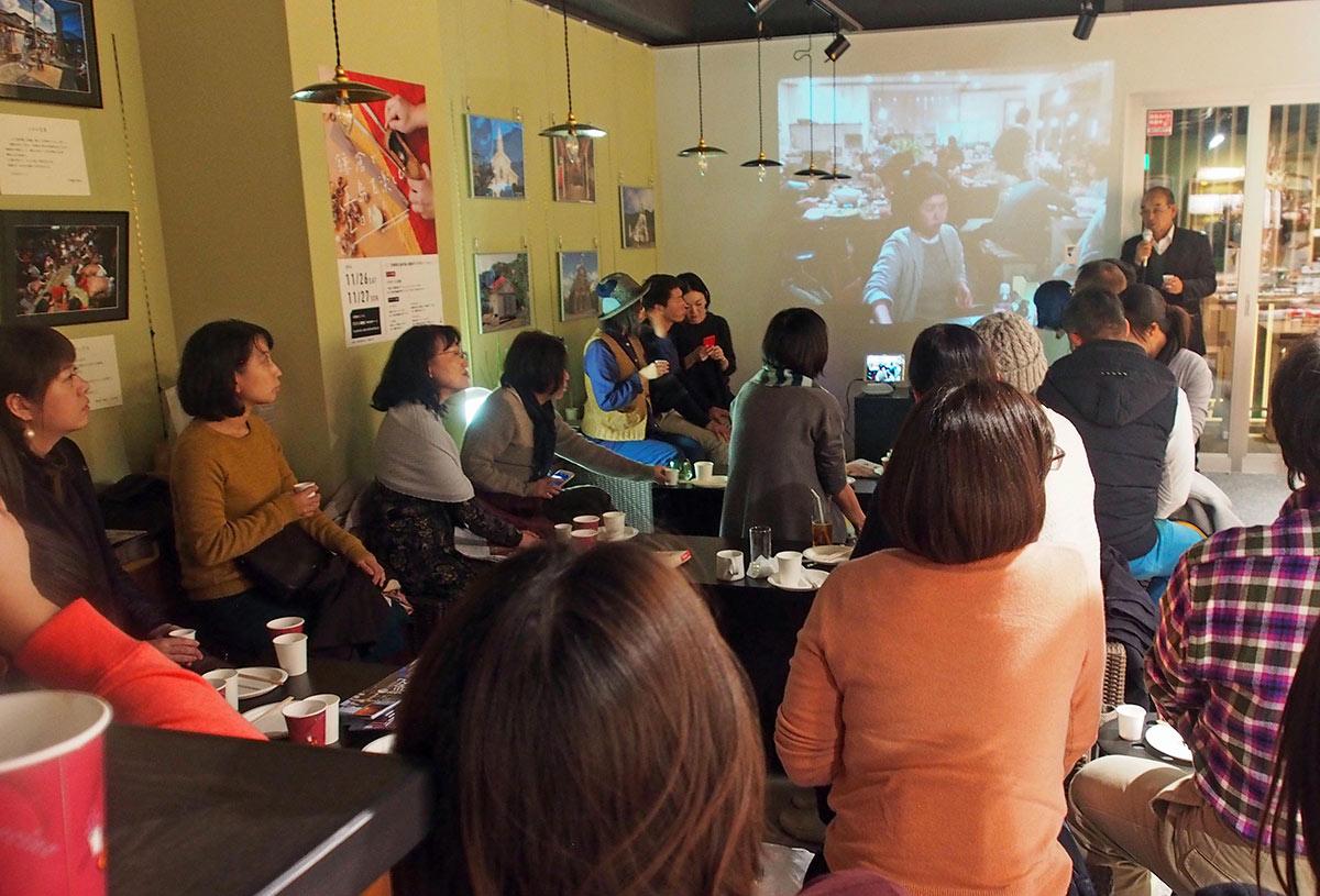 「鎌倉で五島を楽しむ2日間」で行われた五島との中継トークイベント