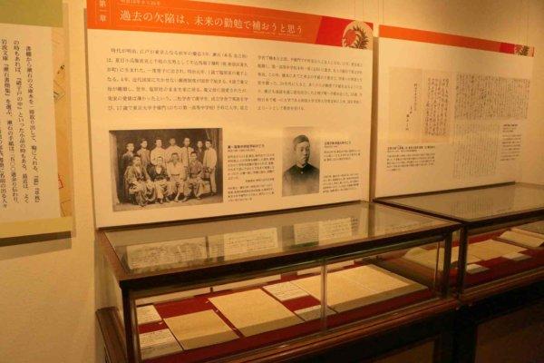 「愛」「手紙」などさまざまな視点で鎌倉ゆかりの文学者を切り取る企画展も魅力