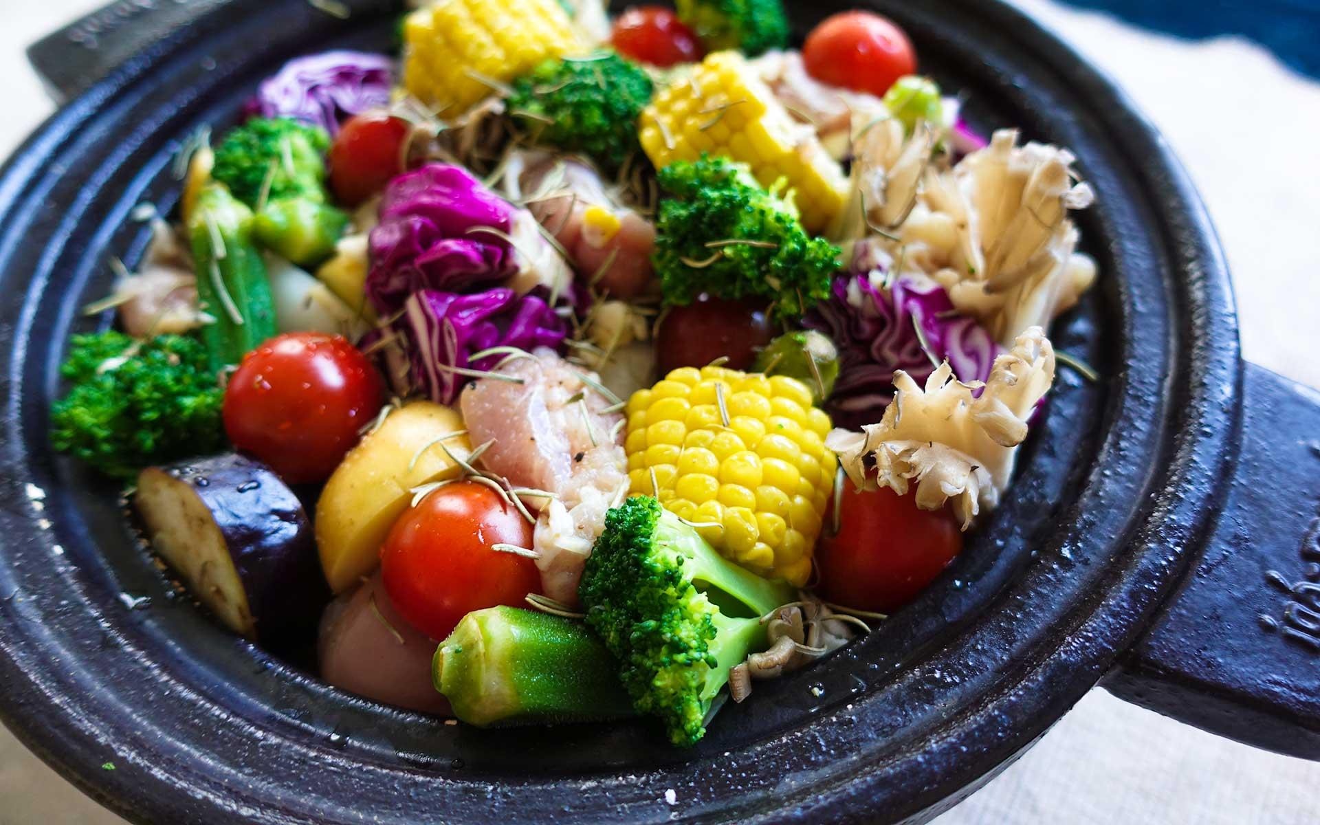 夏の土鍋の使い方