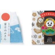 金沢で蚊帳ふきん×スポンジワイプを展示販売。くまモンやリサ・ラーソンら約50種類のデザイン