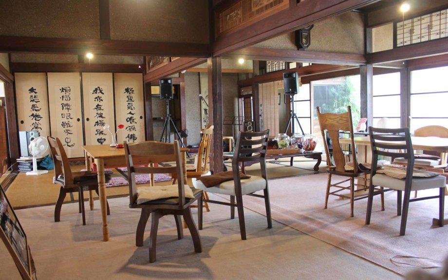 かわだ尾花屋まちライブラリー Warashi Café