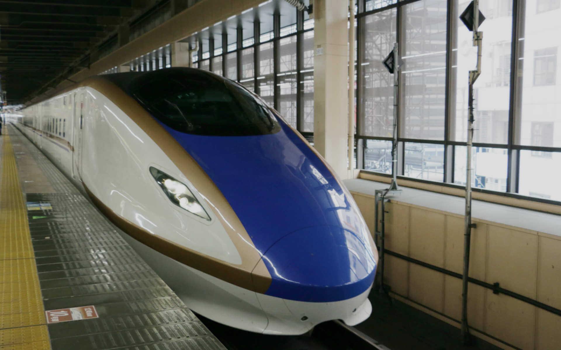 北陸新幹線に乗って、いざ富山へ!
