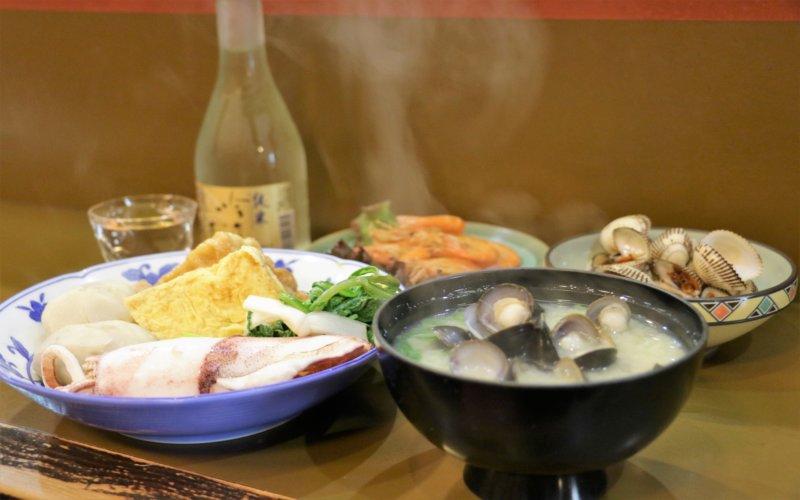宍道湖七珍、最高のシジミ汁で〆る松江の夜
