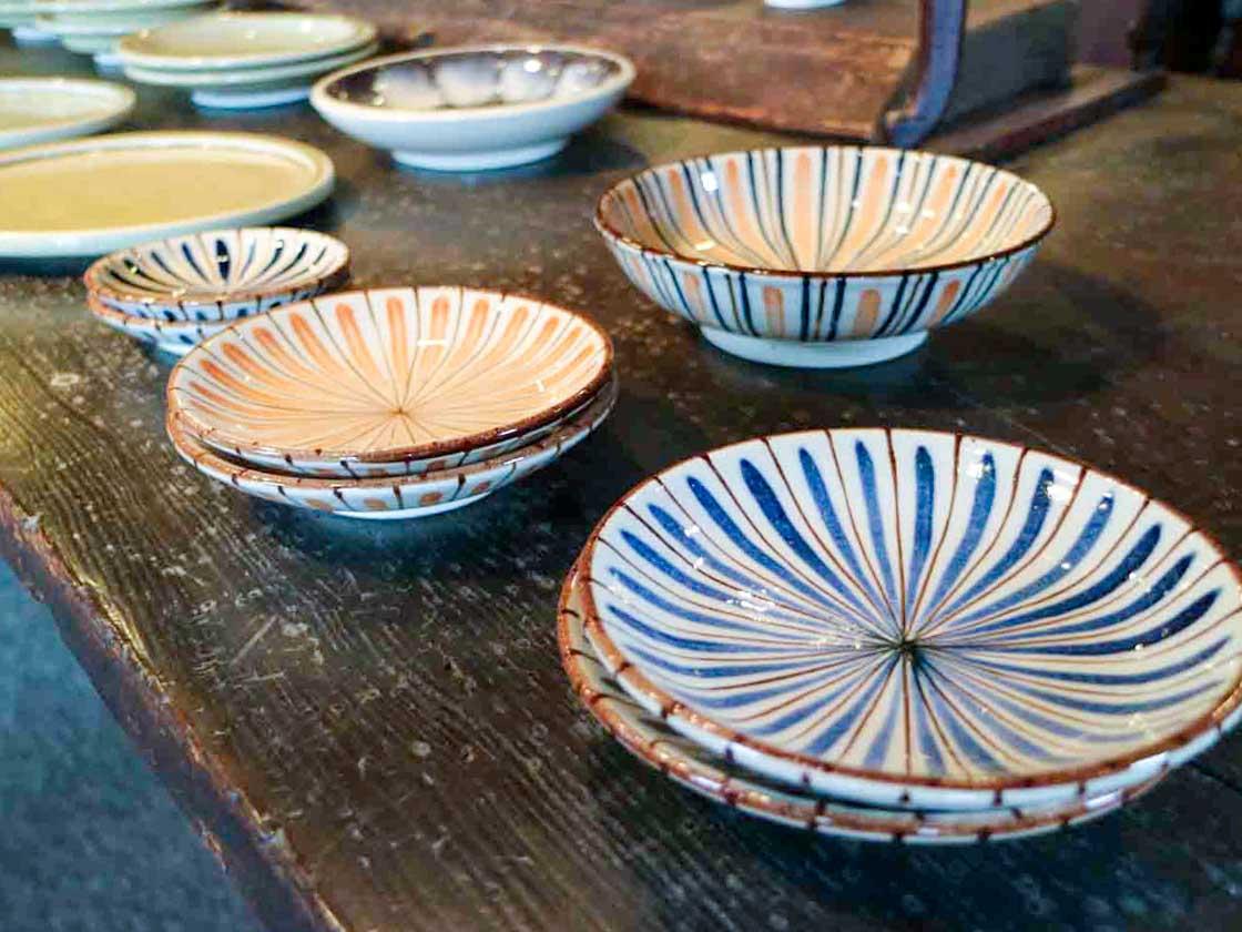 愛知県の「瀬戸本業窯」の器