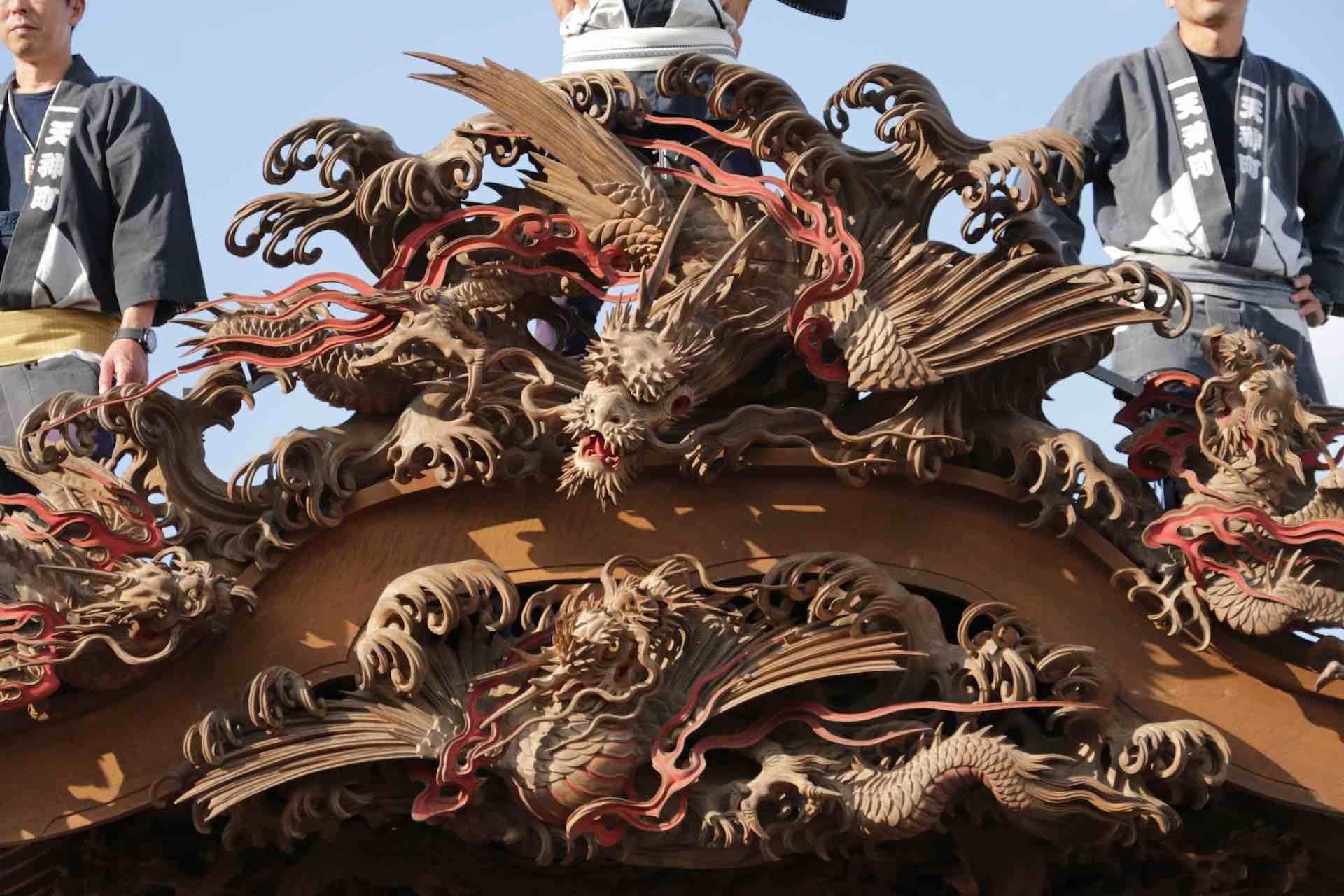 同じ龍でも構図や彫りのタッチで印象が変わります