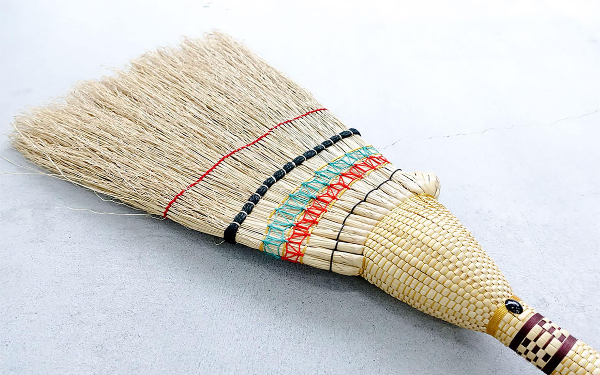 金婚式まで一緒にいたい。50年使えるお掃除道具「鹿沼箒」
