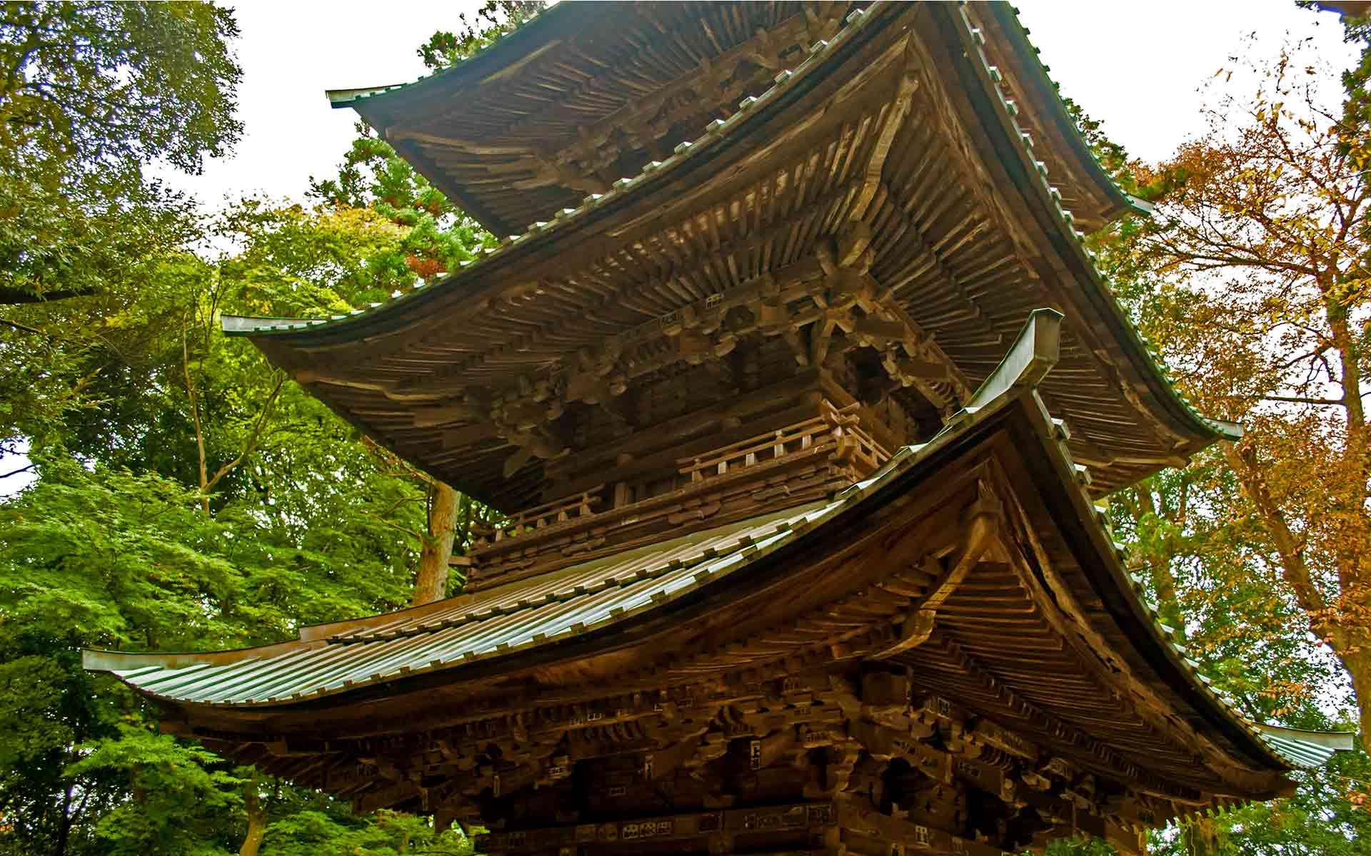 益子は「たてもの」も面白い。閻魔大王が笑う西明寺へ