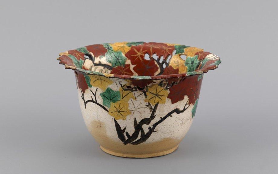 野々村仁清、尾形乾山の作品と箱根の景色で秋を楽しむ「仁清と乾山 ―京のやきものと絵画―」
