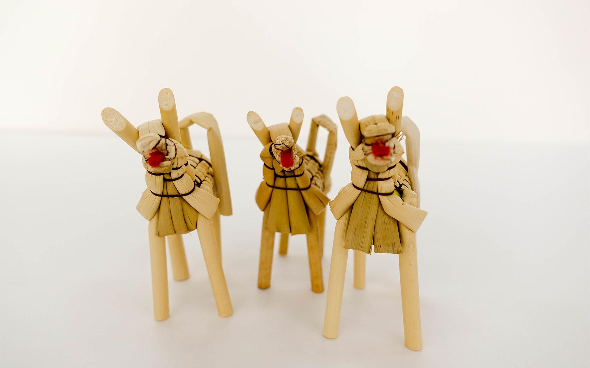 嫁入り道具から生まれた縁起もの、栃木の「きびがら細工」