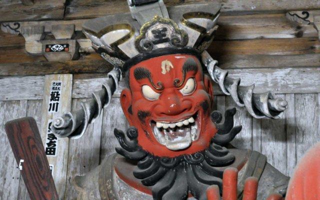 西明寺の笑い閻魔