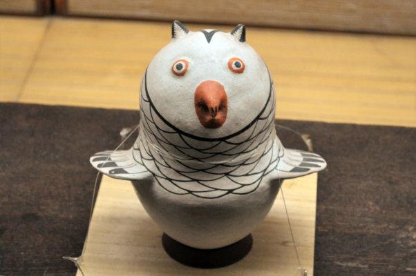 フクロウの人形(アメリカ・インディアン)