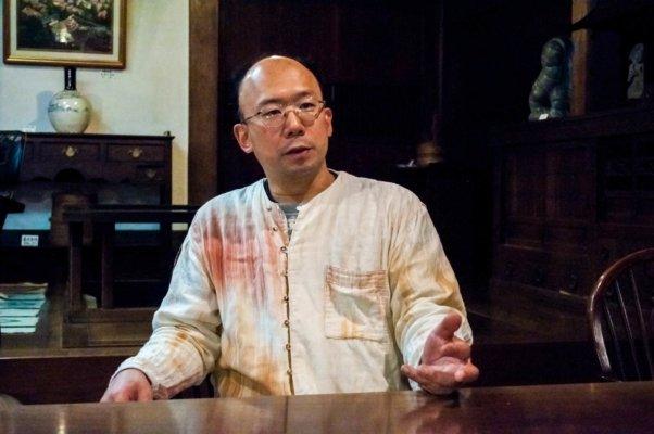 益子参考館の館長、濱田友緒(はまだ・ともお)さん
