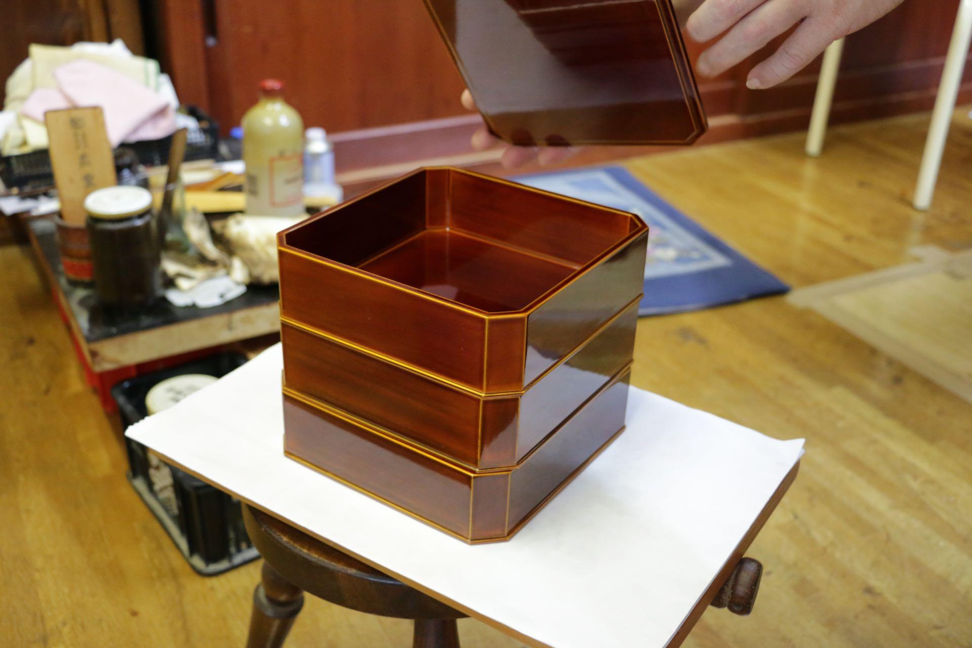 完成品の重箱