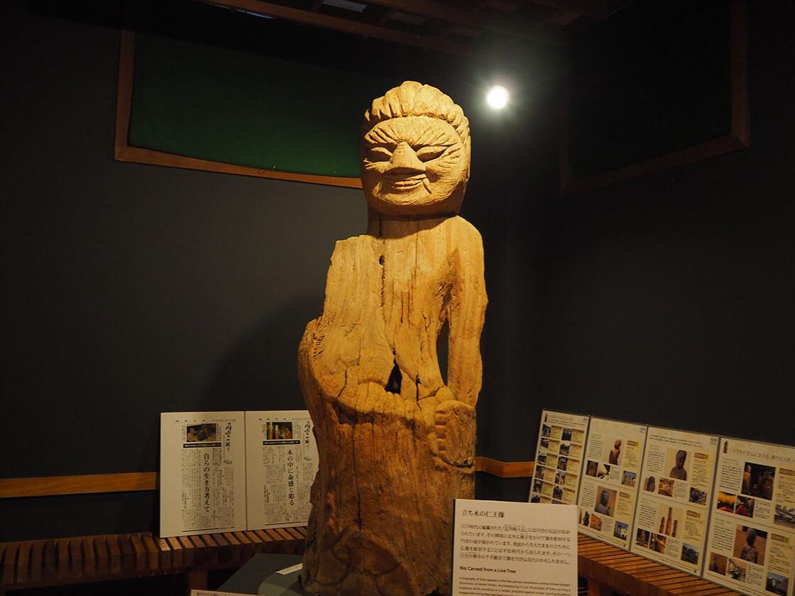 立木仁王像の阿・吽。円空の仏像_さんち