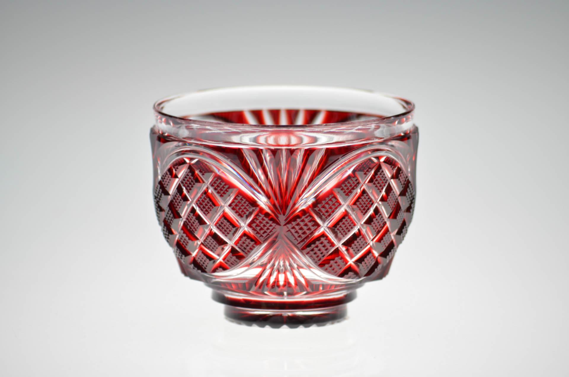 復刻された伝説の「薩摩の紅ガラス」