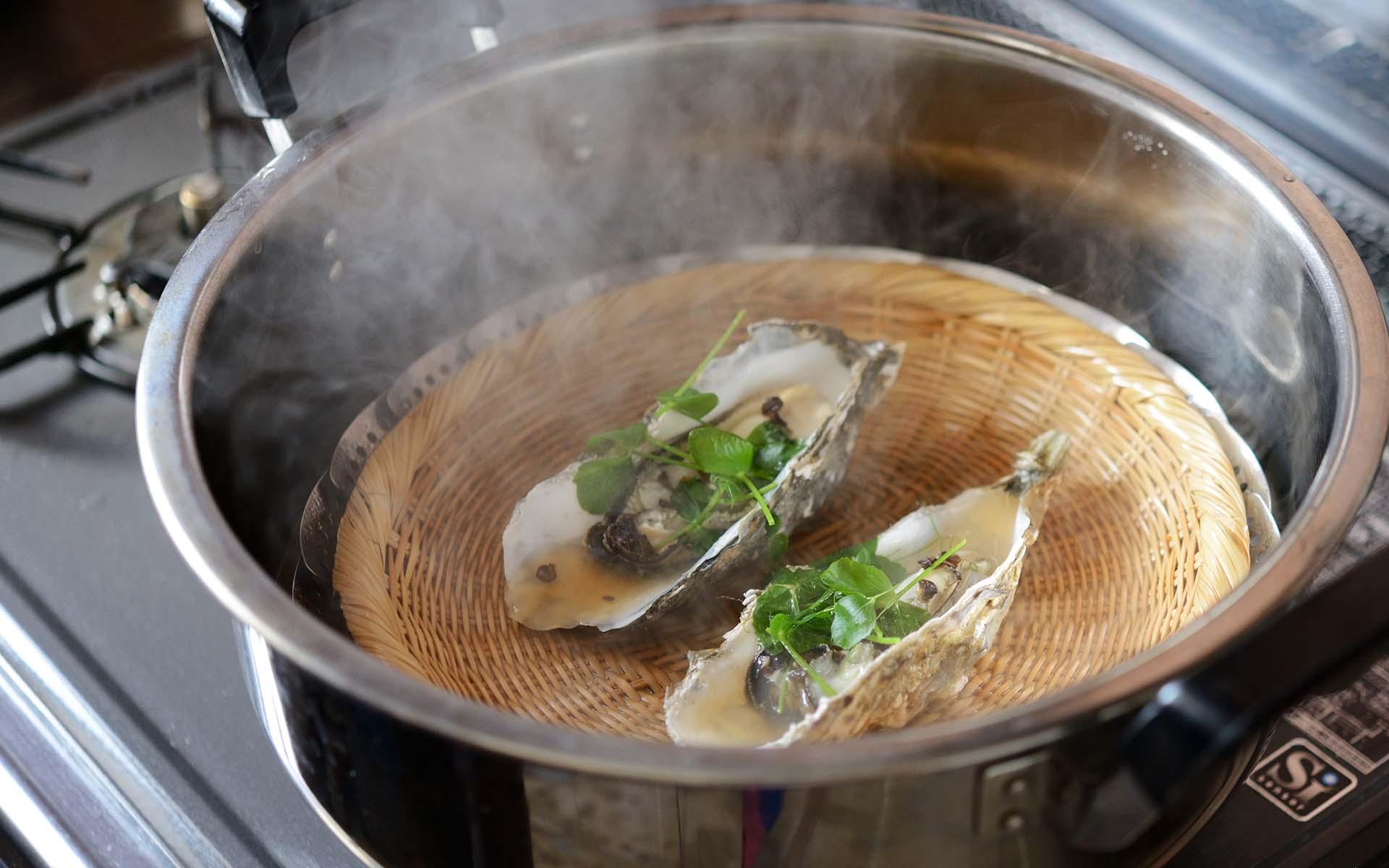 牡蠣の寄り