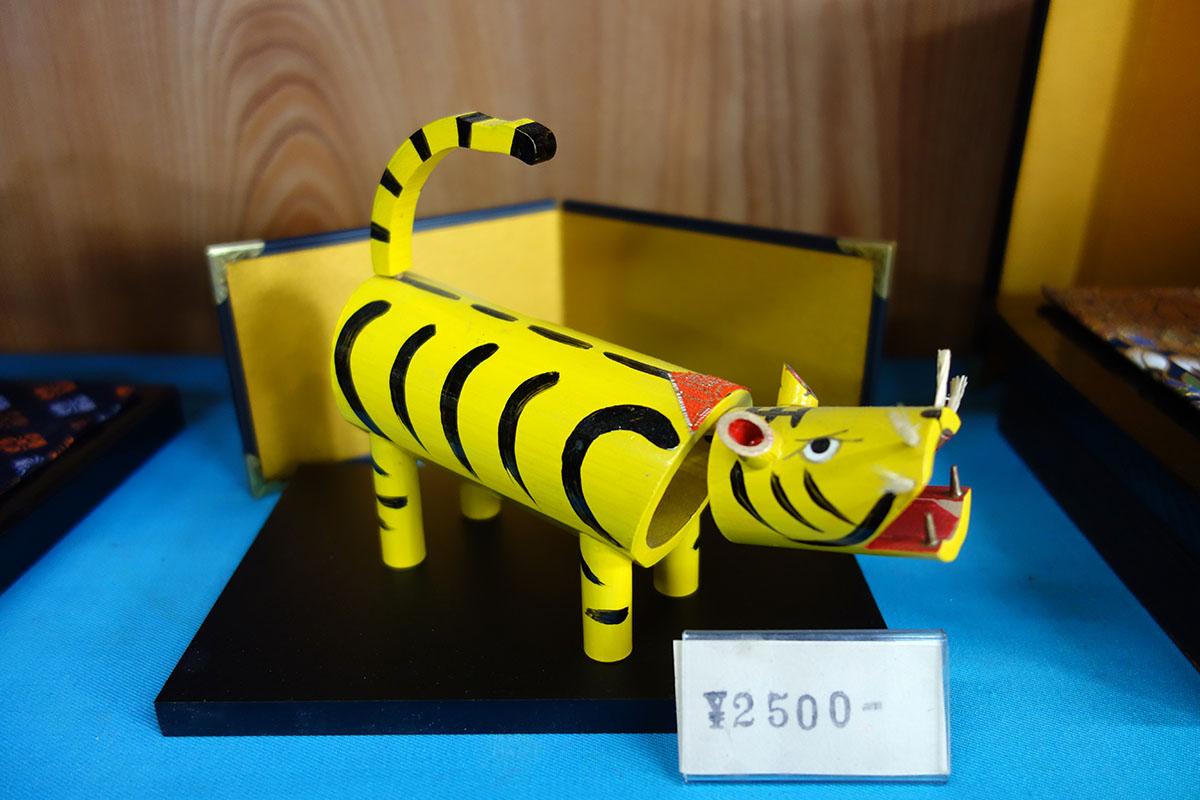 郷土玩具の虎