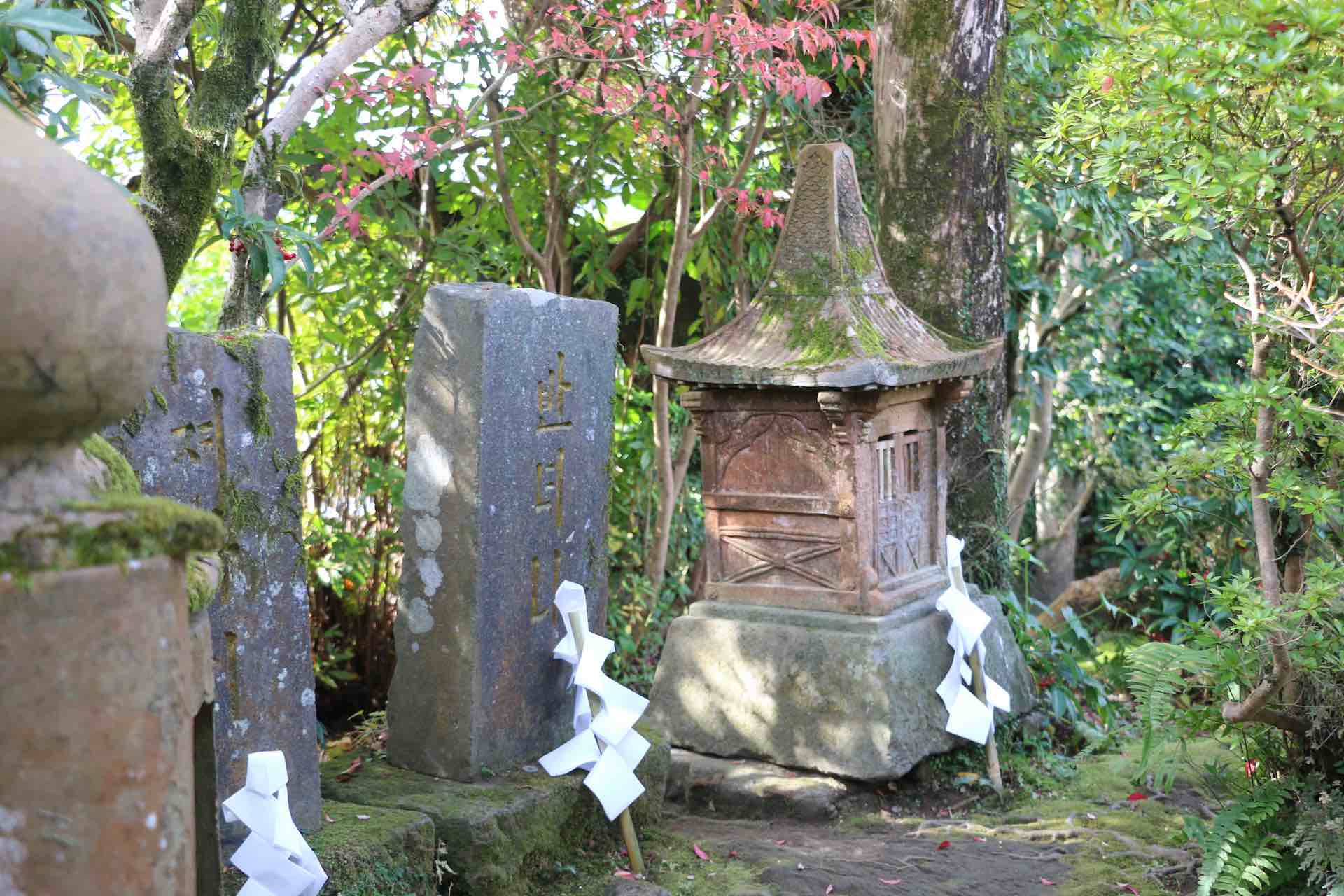 焼き物の神様をお祭りした朝鮮式の祠