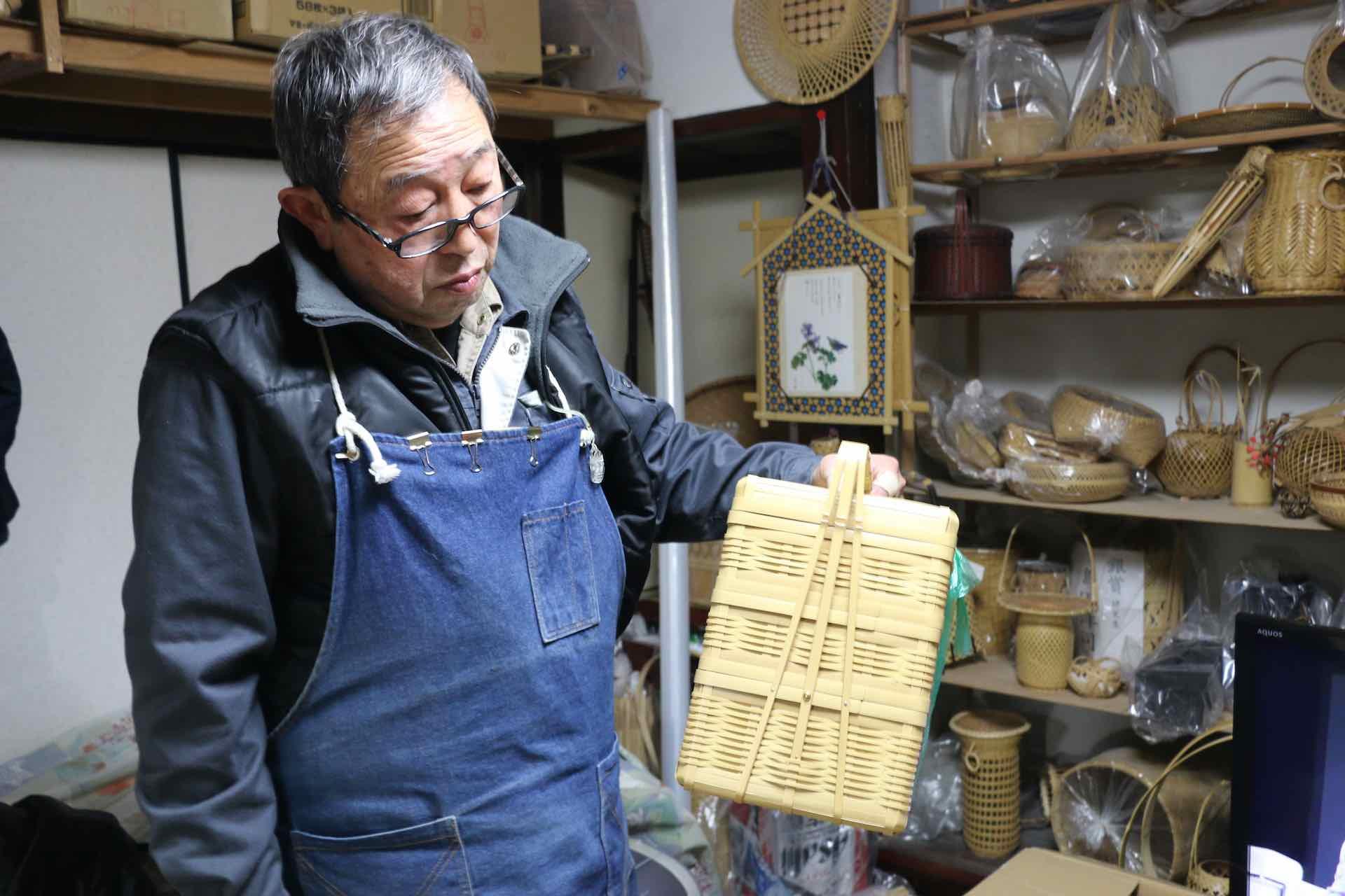 島田さん。富永さんが信頼を置く職人さんのひとりです